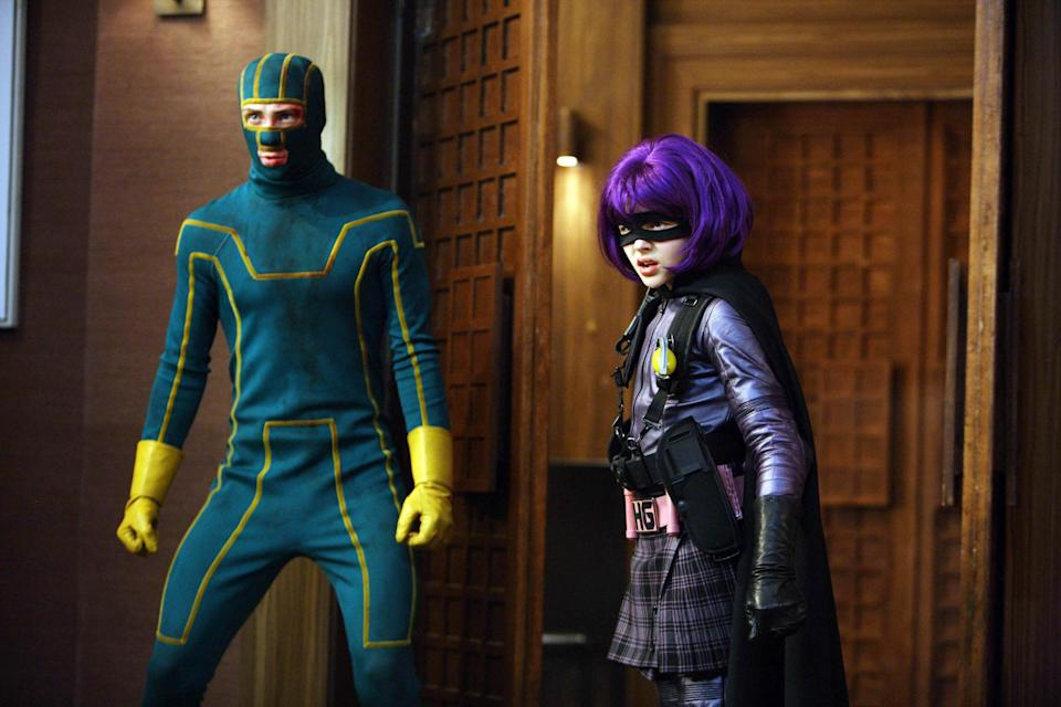 Chloë Moretz played Hit-Girl opposite Aaron Taylor-Johnson as the titular hero in the Kick-Ass franchise
