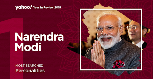 But of course Mr Prime Minister is the No. 1 most searched personality in India! With a landslide victory in the 2019 elections and confident second term, there seems to be no looking back for Narendra Modi who is being touted as the most successful PM of India since independence. Under his leadership historical decisions include abrogation of Article 370 provisions, triple talaq, anti-terror terrorism and merger of banks have been effected. He remains a force to reckon with in the political arena and on the internet!