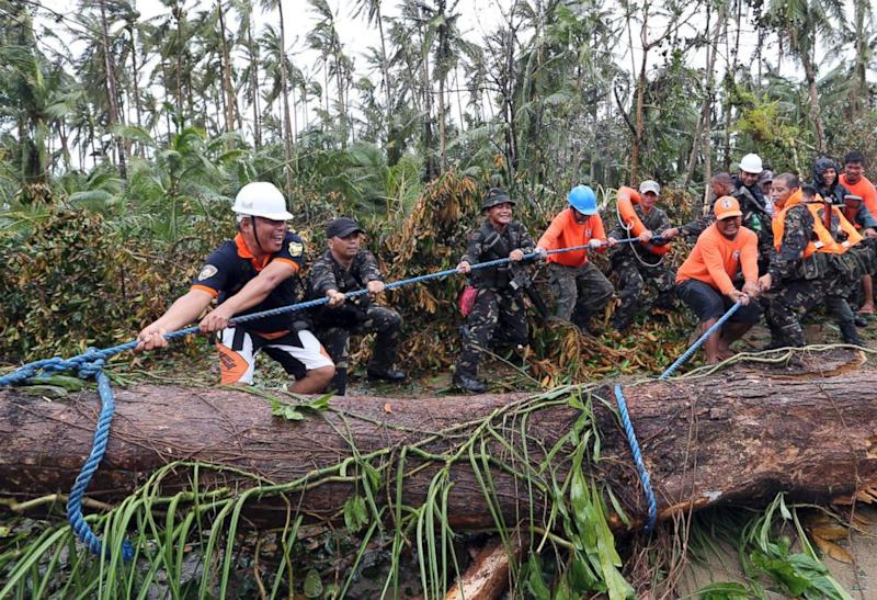 Aid Group Assesses Damage in Philippines From Typhoon Hagupit