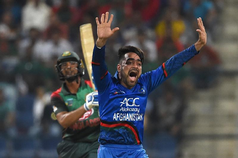 Afghanistan's Rashid Khan is one of the top bowlers in one-day international cricket