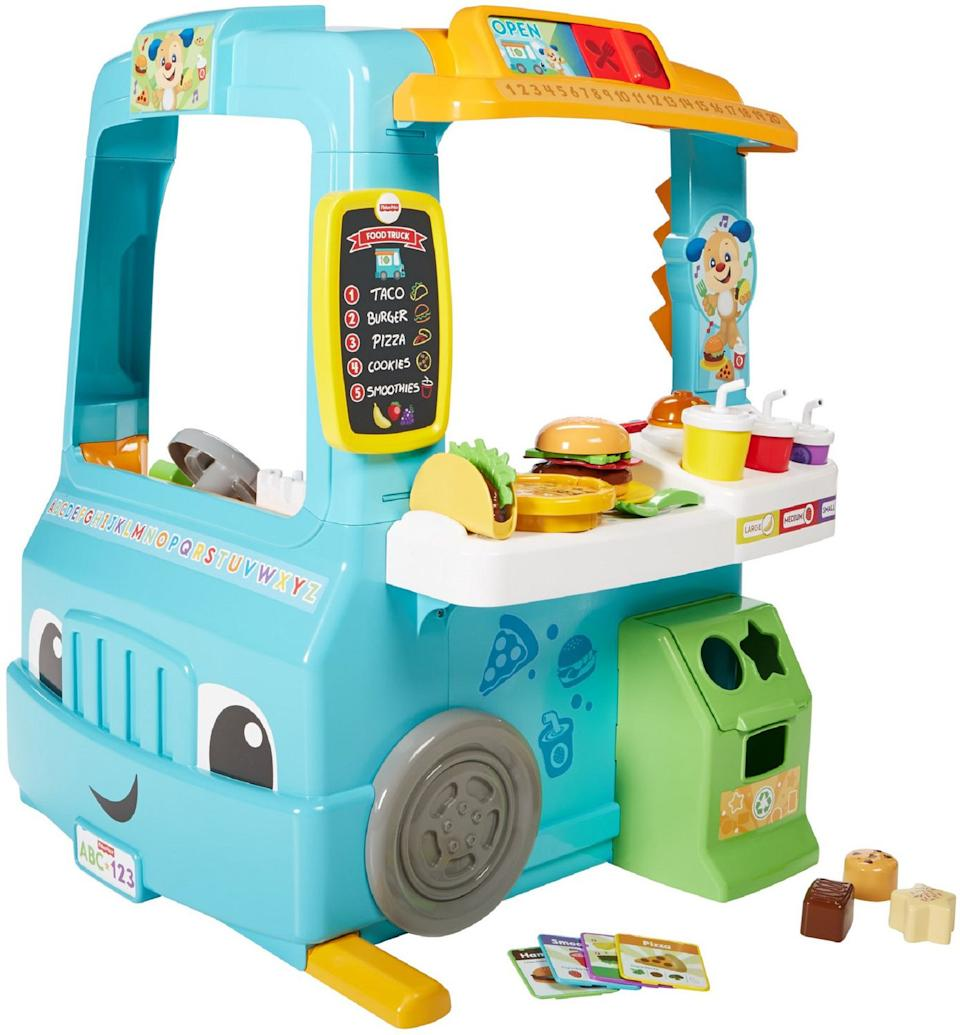 Fisher-Price Laugh & Learn Servin' up Fun Food Truck-English Version is on sale at Walmart.