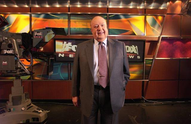 Roger Ailes in 2006. (Photo Jim Cooper/AP)