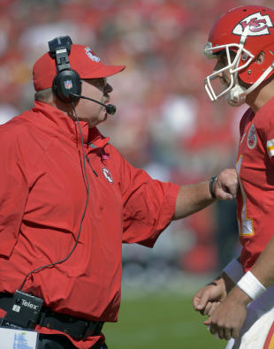 Andy Reid and Alex Smith (AP)