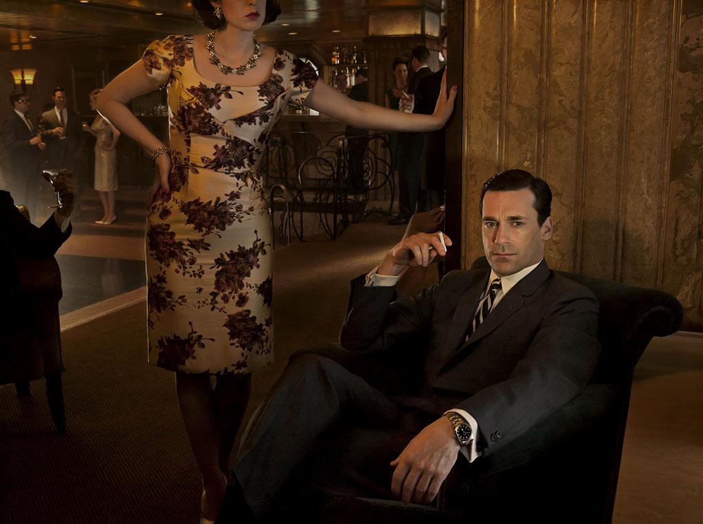 "Jon Hamm (""Mad Men"") is nominated for Outstanding Lead Actor in a Drama Series."