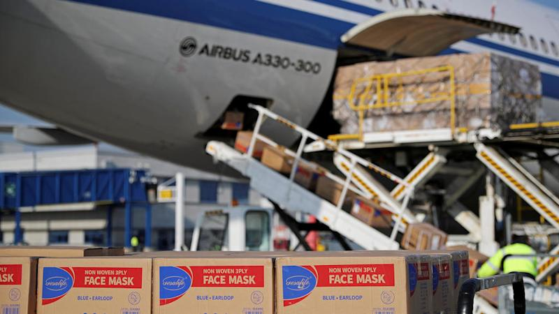 Face masks from China intended for France 'hijacked' by US at the last minute