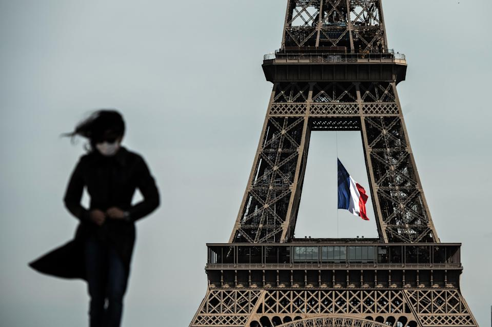 <p>France is currently in yet another partial lockdown </p> (AFP via Getty Images)