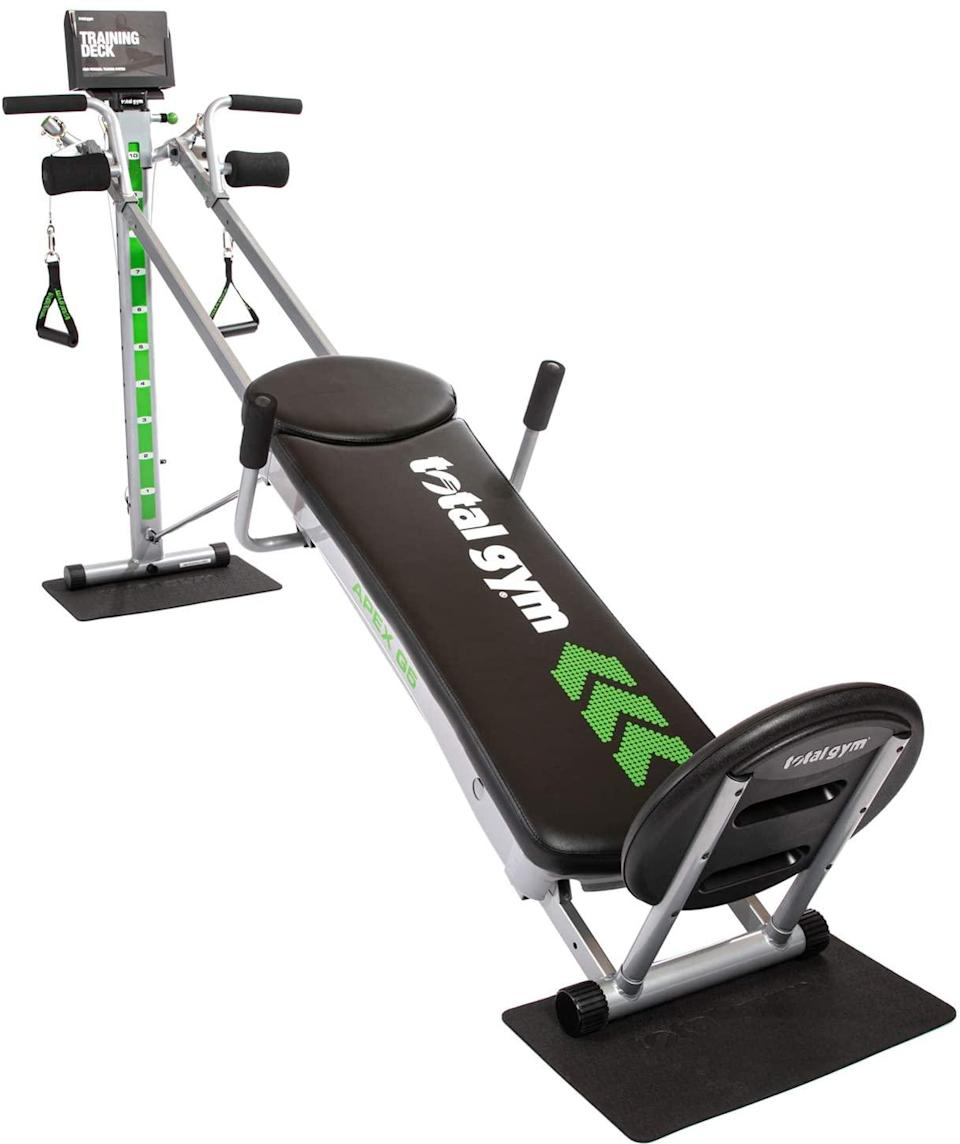 Total Gym APEX Versatile Indoor Home Workout Total Body Strength Training
