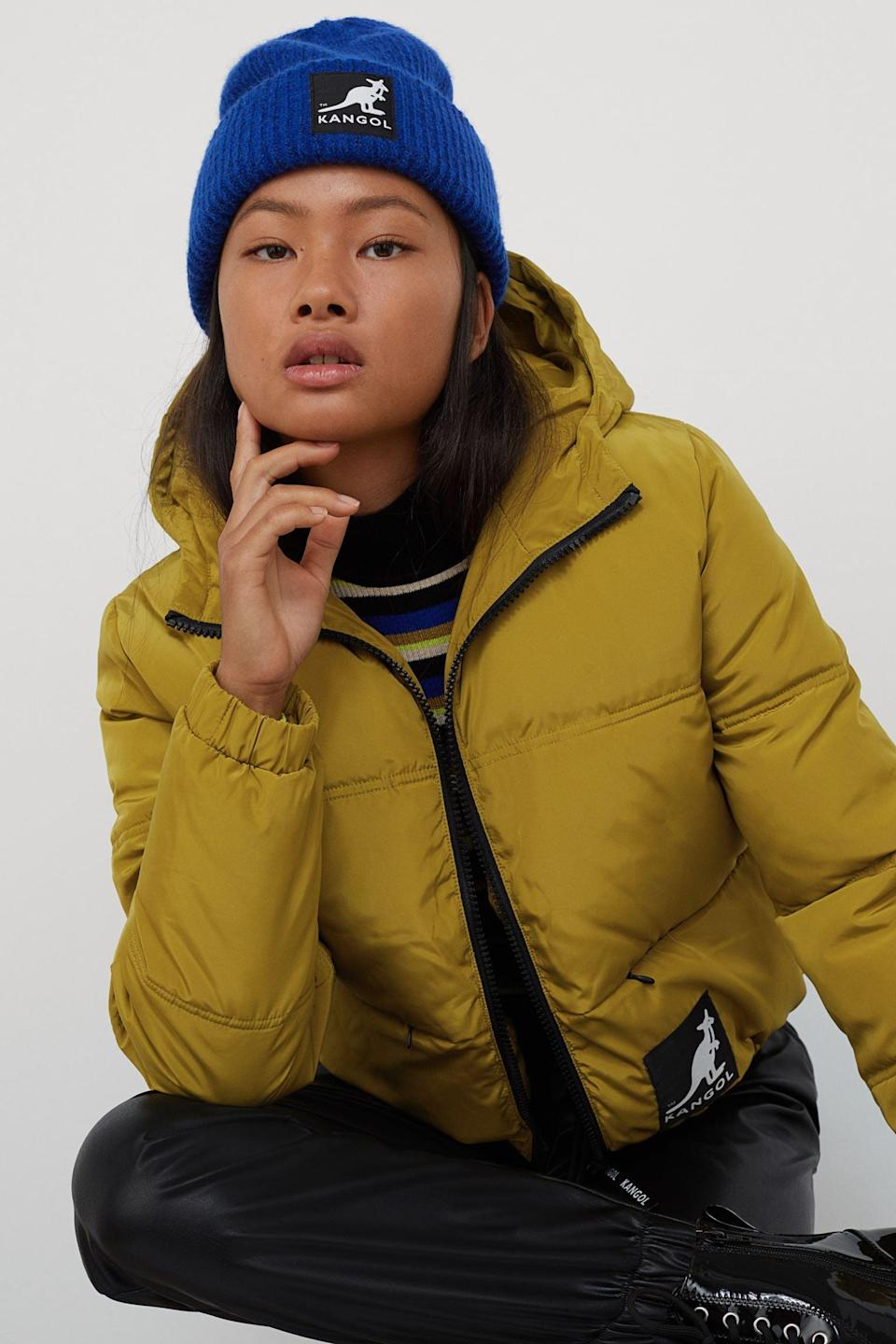 <p>It doesn't get any cooler than this mustard yellow <span>Short Puffer Jacket</span> ($50).</p>