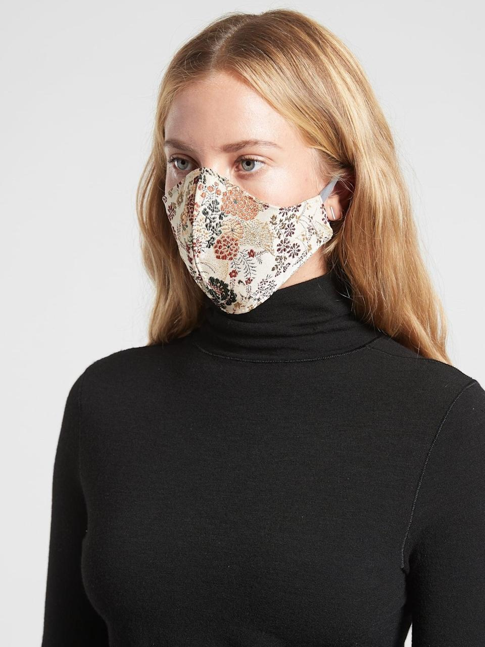 <p>The limited-edition <span>Athleta Silk Mask by VPL</span> ($49) is a great stocking stuffer. What makes it even better is that through Jan. 31, 2021, Athleta is donating 100 percent of net proceeds (up to $300,000) from the sale of VPL's nonmedical, adult masks to Fashion Girls for Humanity, a women-founded nonprofit helping communities affected by the COVID-19 pandemic.</p>