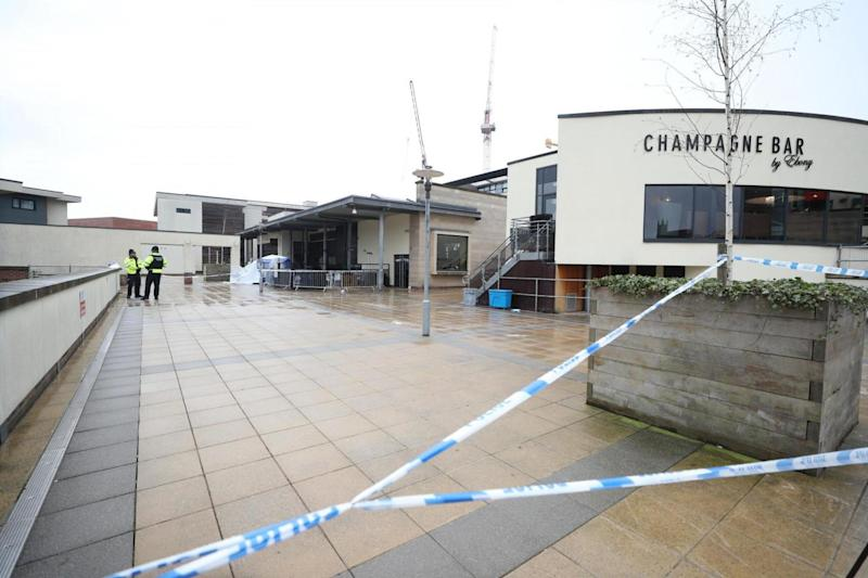 Witnesses told how the student was pinned under a barrier outside Missoula nightclub (PA)
