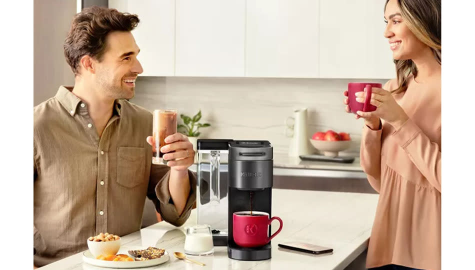 Make a customized cup of coffee with Keurig. (Photo: Kohl's)
