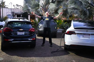 Bill Walton walks the solar talk, having powered his home and electric vehicles for years with rooftop solar power.