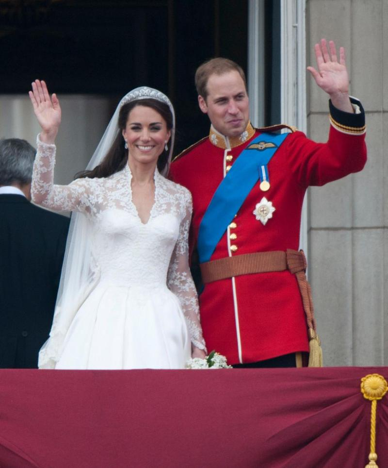 Kate and Wills put their own personal touches on their wedding menu in 2011. Photo: Getty