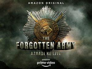 Amazon Prime Video releases the first poster of its upcoming original 'The Forgotten Army- Azaadi ke Liye'