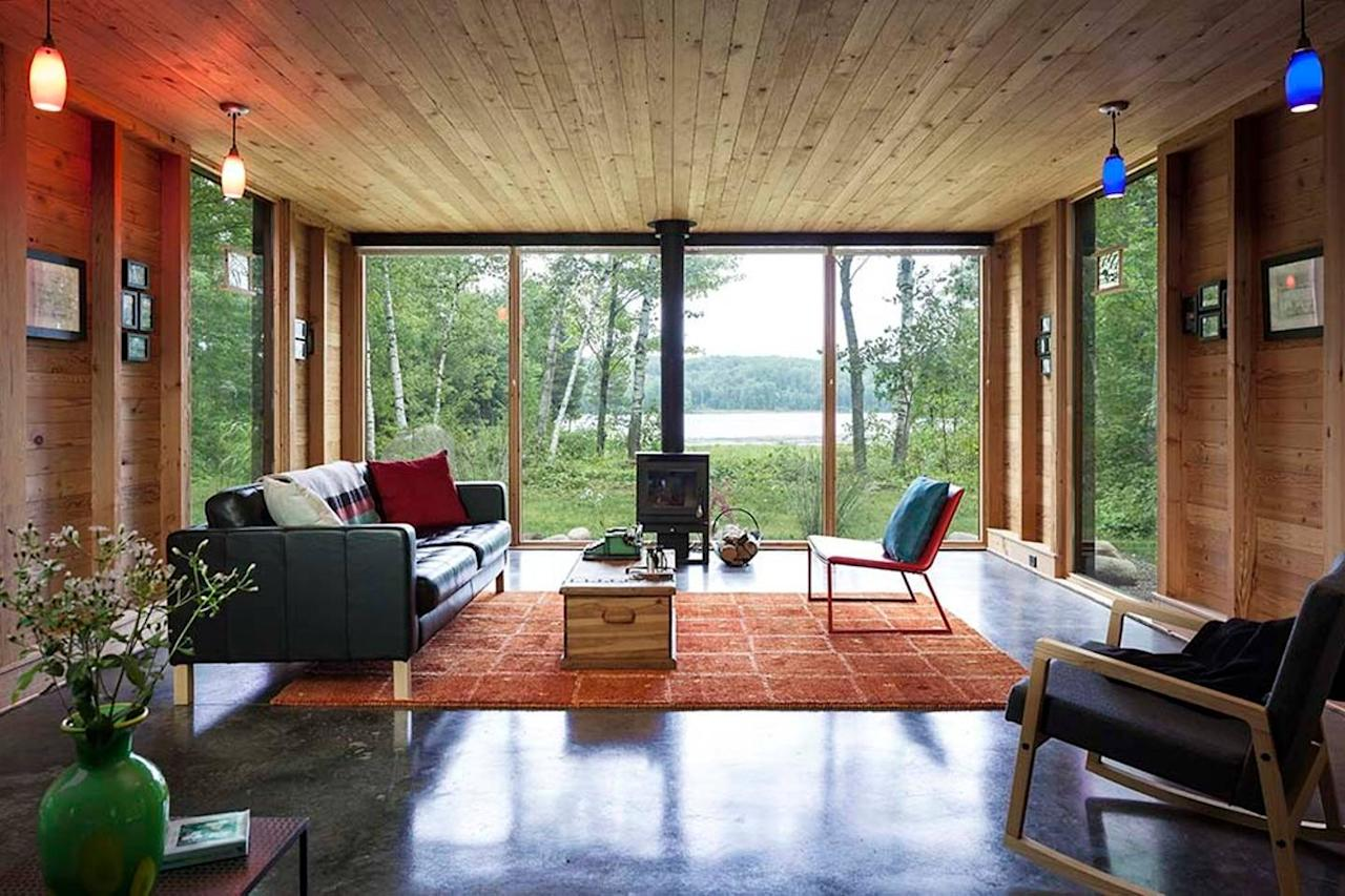 "<h2>Weyerhaeuser, Wisconsin</h2>                                                                                                                                                                 <p><p>Those in search of more modern accommodations will adore <a rel=""nofollow"" href=""https://www.airbnb.com/rooms/10833543?location=Winter%2C%20WI&guests=1&s=pYLbo6Sq"">this lakefront cabin.</a> With six beds and room for up to 10 guests, the sustainably built home is perfect for groups who want to ski, sled and ice-skate. But gathering around the fireplace with cocktails, board games and a view of the great outdoors works, too.</p>                                                                                                                                                                   <h4>Airbnb</h4>                                                                                                         <p>     <strong>Related Articles</strong>     <ul>         <li><a rel=""nofollow"" href=""http://thezoereport.com/fashion/style-tips/box-of-style-ways-to-wear-cape-trend/?utm_source=yahoo&utm_medium=syndication"">The Key Styling Piece Your Wardrobe Needs</a></li><li><a rel=""nofollow"" href=""http://thezoereport.com/entertainment/culture/tried-22-day-beyonce-vegan-diet-im-starving/?utm_source=yahoo&utm_medium=syndication"">I Tried The 22-Day Beyoncé Vegan Diet—And I'm Starving</a></li><li><a rel=""nofollow"" href=""http://thezoereport.com/beauty/celebrity-beauty/rosie-huntington-whiteley-5-minute-makeup/?utm_source=yahoo&utm_medium=syndication"">Rosie Huntington-Whiteley Spills <i>All</i> Her Makeup Secrets</a></li>    </ul> </p>"