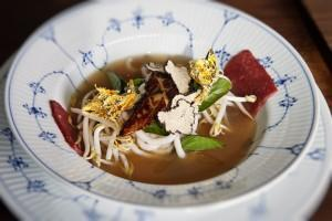 AnQi Pho soup at Titao in Santa Monica