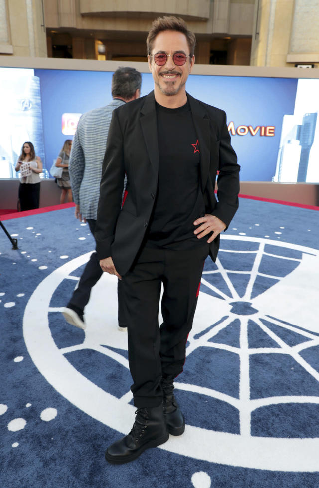 <p>Robert Downey Jr. brings his Iron Man charm to the latest <em>Spider-Man</em> movie. (Photo: Eric Charbonneau/Invision/AP Images) </p>