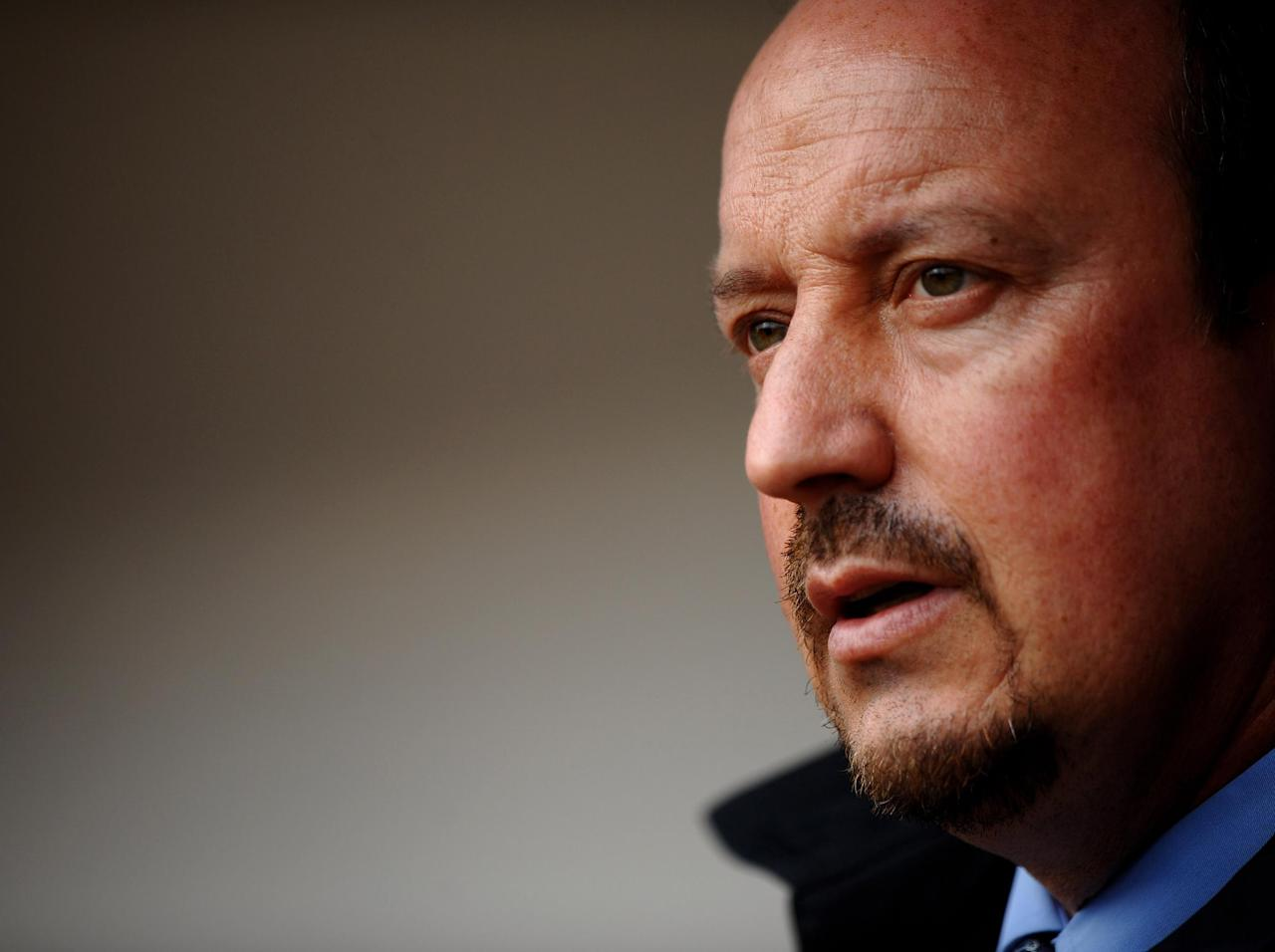 Rafa Benitez will stay as Newcastle manager for now but is fast losing patience with club's transfer strategy