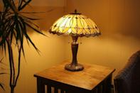<p>This is a tough one, but in most cases, your best bet is to do away with this famed light fixture. A Tiffany lamp makes a room feel too dated, and there are a slew of other lighting styles on the market that can easily add a a touch of elegance to a room.</p>