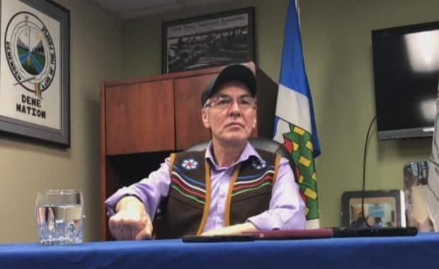 Dene Nation Chief Norman Yakeleya holds the residential schools file for the Assembly of First Nations and called the discovery 'devastating.'