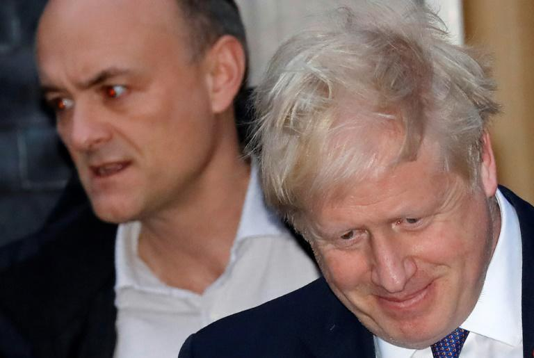 Johnson has been locked in a war of words with his former top aide Dominic Cummings