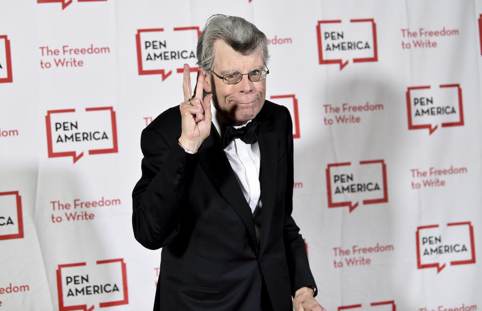 Stephen King attends the 2018 PEN Literary Gala at the American Museum of Natural History in New York. (Photo by Evan Agostini/Invision/AP)