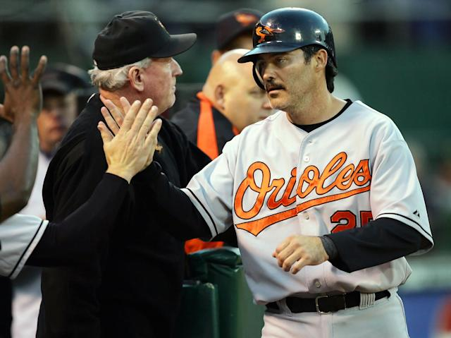 Rafael Palmeiro is ready to make a comeback. (AP Photo)