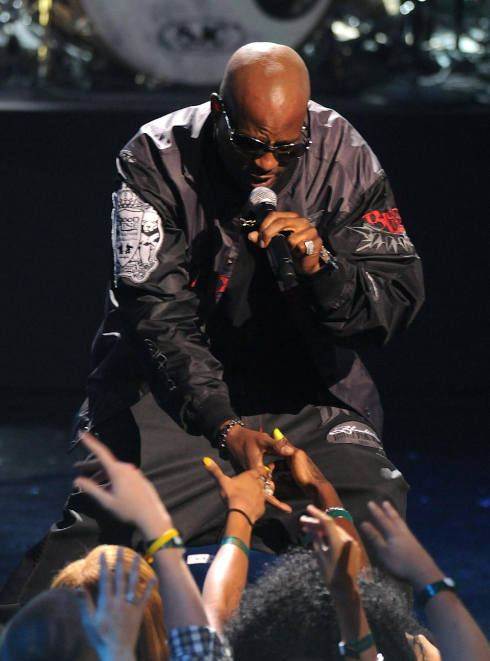 DMX performs at the VH1 Hip Hop Honors at the Brooklyn Academy of Music in New York on Sept. 23, 2009.