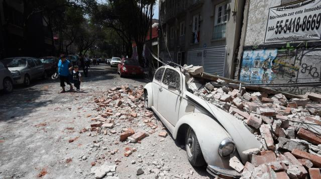 People in neighborhoods across central Mexico watched as homes, businesses, and schools fell apart before their eyes during Tuesday's catastrophic earthquake.