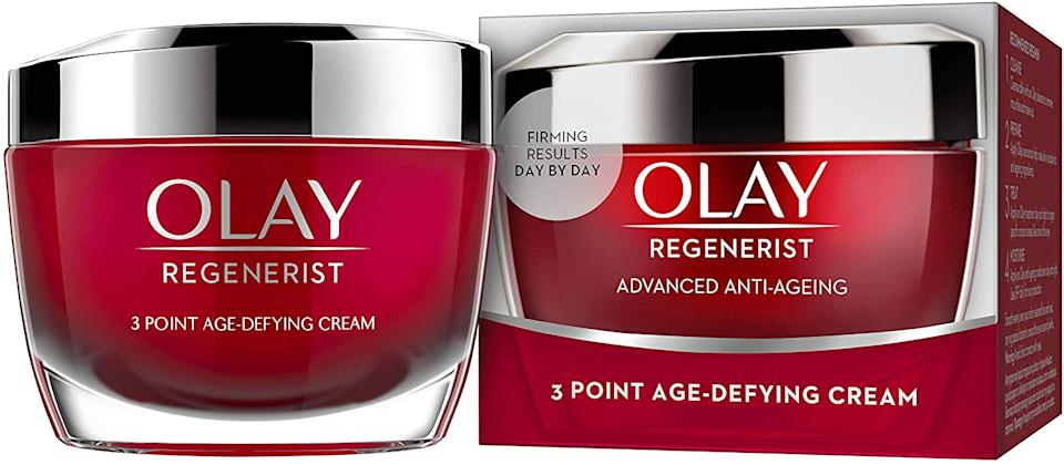 The Olay cream has thousands of five star reviews. (Olay)