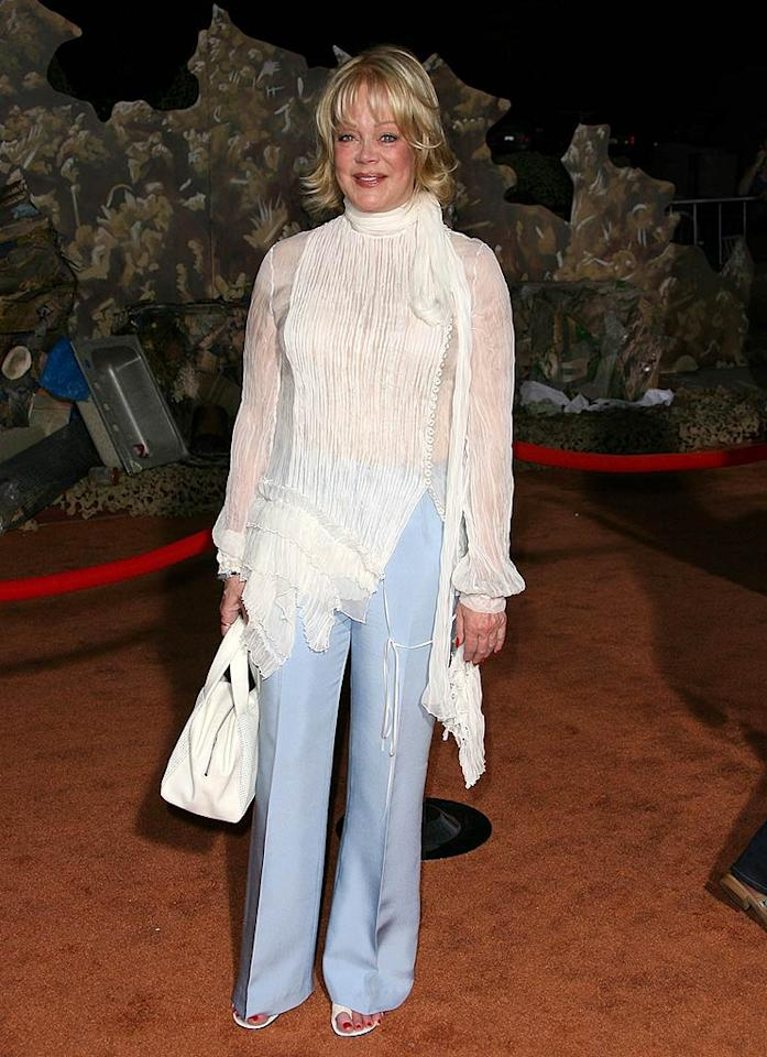 "Candy Spelling has reason to be embarrassed by her daughter Tori from time to time, but this atrocious ensemble could shame their family for countless years to come. Jordan Strauss/<a href=""http://www.wireimage.com"" target=""new"">WireImage.com</a> - June 21, 2008"