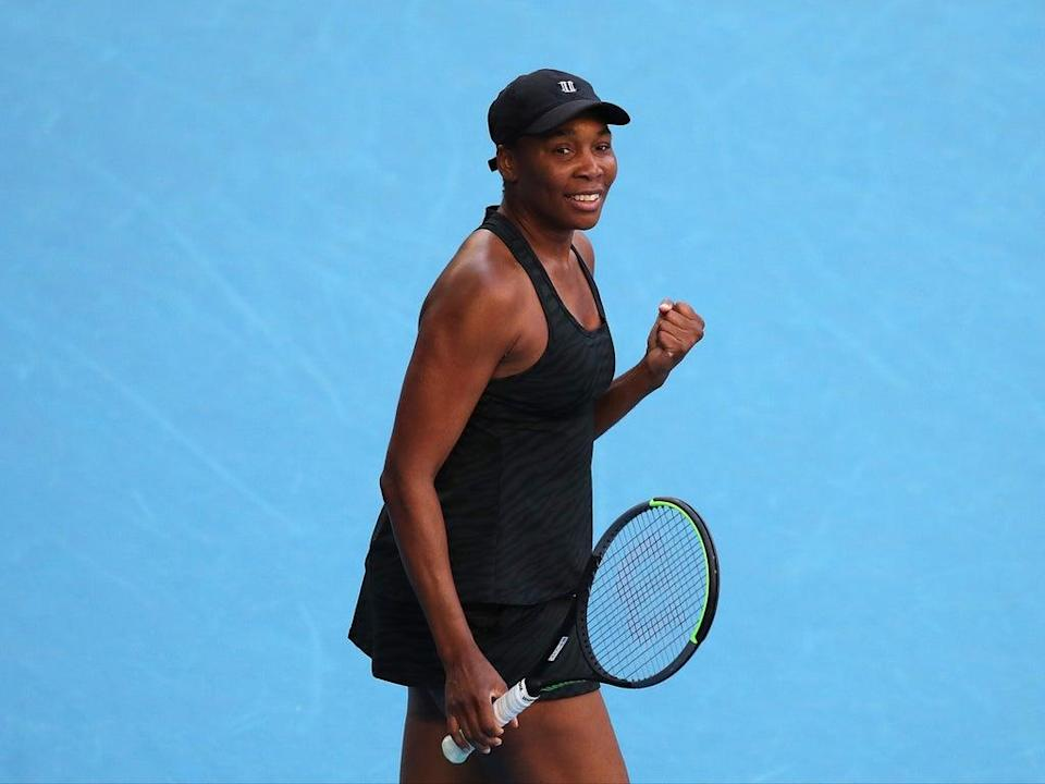 Venus Williams says she's not 'desperate' to settle down and start a family (Getty Images)