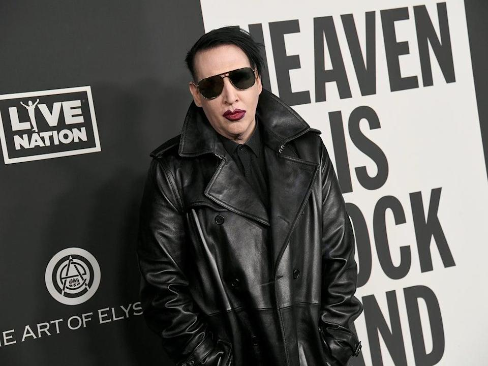 File: Marilyn Manson allegedly showed Jane Doe a gruesome video tape he said he filmed in 1996 (Getty Images)