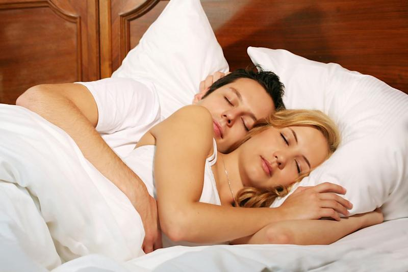Many couples are tossing and turning to get a good night's sleep (Picture: Getty)