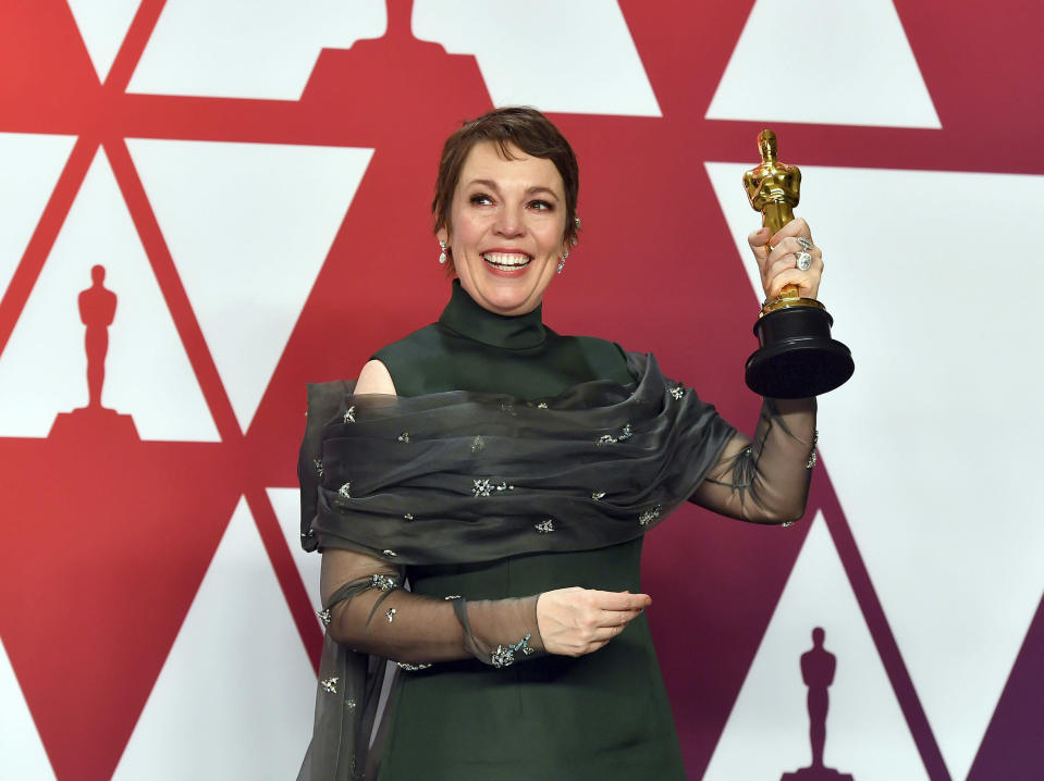 It was a good night for Olivia Colman but a bad one for Glenn Close.