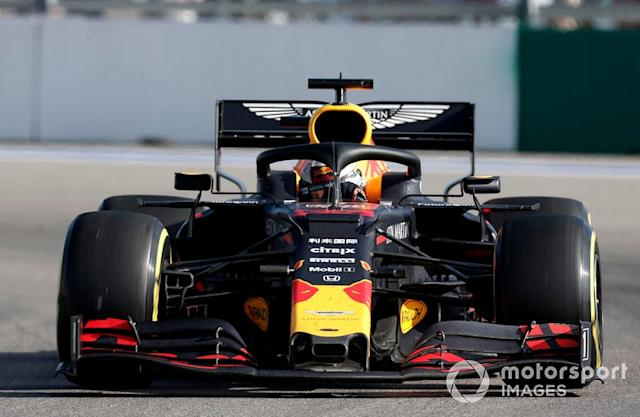 "Max Verstappen, Red Bull Racing RB15 <span class=""copyright"">Joe Portlock / LAT Images</span>"