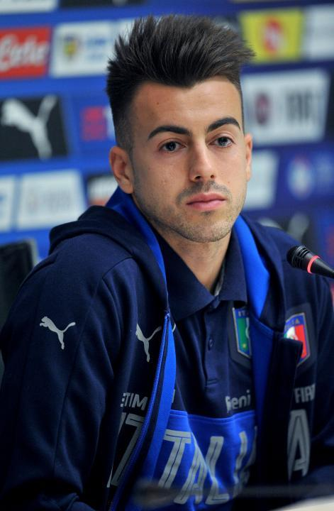 Coverciano, conferenza stampa di Stephan El Shaarawy