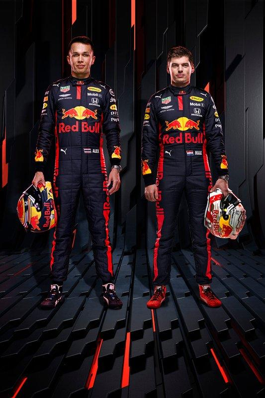 "Alexander Albon, Red Bull Racing, Max Verstappen, Red Bull Racing <span class=""copyright"">Red Bull Content Pool</span>"