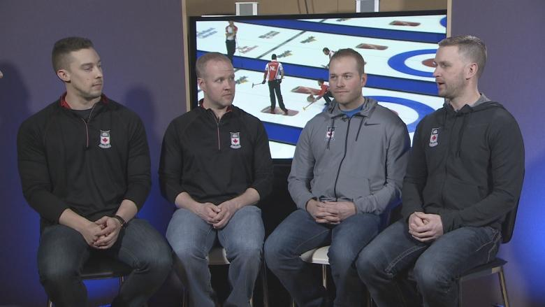 Team Gushue setting sights on another Olympic win