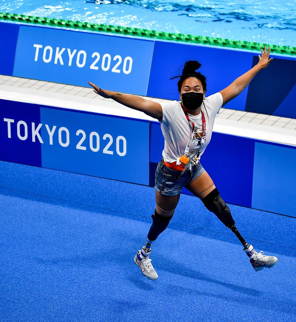 American swimmer Haven Shepherd is just one of the incredible stories of athlete resilience at the Paralympics in Tokyo