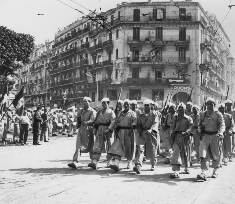 Successive French presidents had already begun owning up to the betrayal of the Algerian Muslim fighters (AFP/Jacques GREVIN)