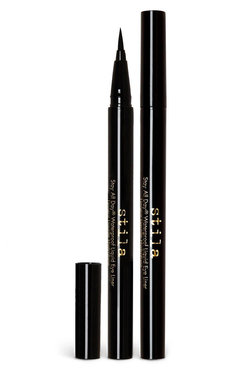 """<h2>Stila Stay All Day Eyeliner Set 20% Off<br></h2><br>""""One for you, one for a friend…or two for you — honestly, no judgment here. Stila's liquid eyeliner pen is a bestseller for a reason. The pigment is an inky, satiny black, and the tip is as precise as it gets. I love to use to create everything from a subtle wing to a dramatic cat-eye. And getting them for $16 each is definitely not a bad a deal!"""" <em>– Karina Hoshikawa, Beauty Market Editor</em><br><br><em>Shop</em> <em><a href=""""https://www.nordstrom.com/brands/stila--1065"""" rel=""""nofollow noopener"""" target=""""_blank"""" data-ylk=""""slk:Stila"""" class=""""link rapid-noclick-resp""""><strong>Stila</strong></a></em> <br><br><strong>Stila</strong> Stay All Day Eyeliner Set, $, available at <a href=""""https://go.skimresources.com/?id=30283X879131&url=https%3A%2F%2Fwww.nordstrom.com%2Fs%2Fstila-stay-all-day-eyeliner-set-40-value%2F5921747"""" rel=""""nofollow noopener"""" target=""""_blank"""" data-ylk=""""slk:Nordstrom"""" class=""""link rapid-noclick-resp"""">Nordstrom</a>"""