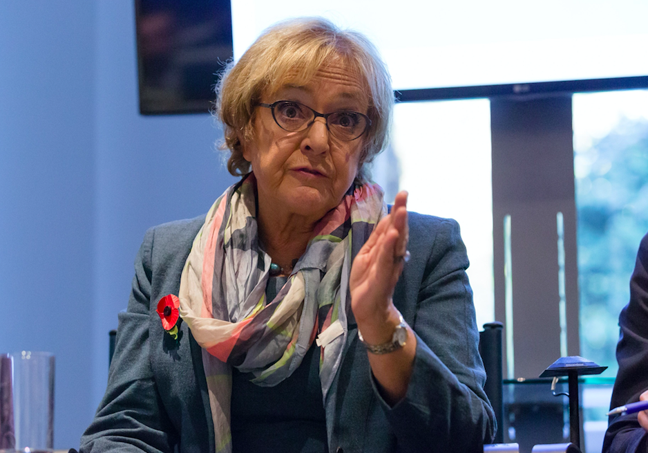 <em>Labour MP Margaret Hodge launched an angry tirade against Mr Corbyn in the Commons (Rex)</em>