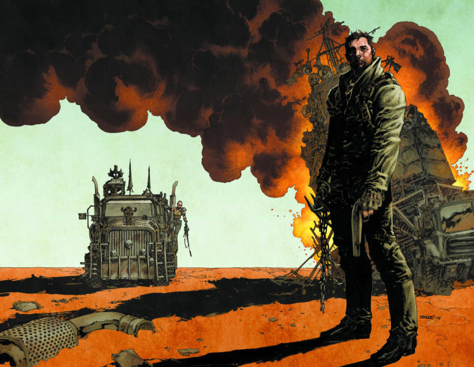 """""""As a kid growing up during the Cold War, 'Mad Max' was the scariest movie of my youth — precisely because the bleak, dystopian future it painted felt the most horrifyingly plausible,"""" writes Jim Lee, noted comic artist and co-publisher of DC Entertainment. """"The stories still make me worried for our collective future, but you can't turn away."""""""