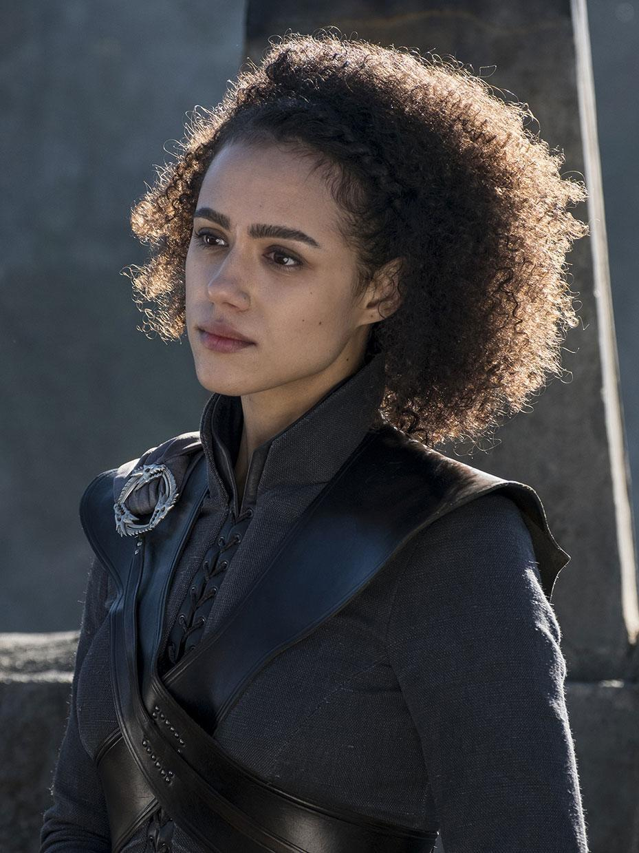 <p>Seeing a Black woman in a fantasy show, taking place during Medieval times, with her natural hair out in full display is not something we see on television very often. So while some may say Nathalie Emmanuel character Missandei only played a minor role in the series, it was major for us. </p>
