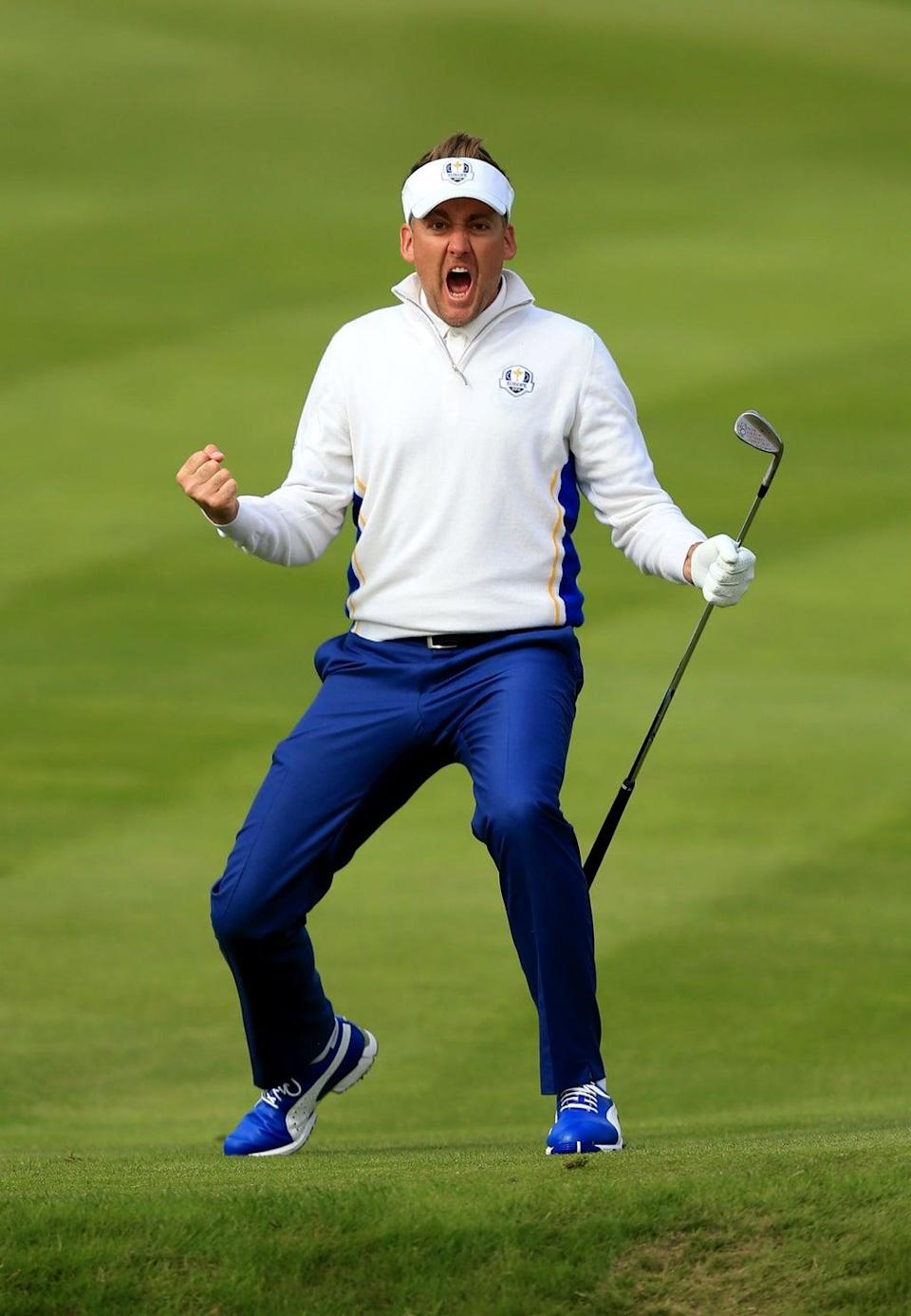 File photo dated 27-09-2014 of Europe's Ian Poulter. Issue date: Sunday September 12, 2021 (Mike Egerton/PA) (PA Wire)