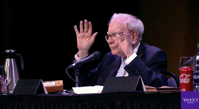 Buffett hit every tough question head on.