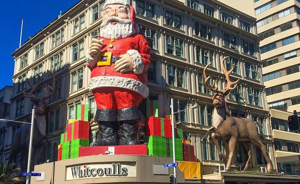 """<p>Like Australia, summer is in full swing when Christmas comes around in New Zealand. The holiday is celebrated as it is many other places with Santa parades, store displays, and Christmas music. Popular Christmas songs in New Zealand include """"<a href=""""https://www.youtube.com/watch?v=nRcJ554cMY8"""" rel=""""nofollow noopener"""" target=""""_blank"""" data-ylk=""""slk:Sticky Beak the Kiwi"""" class=""""link rapid-noclick-resp"""">Sticky Beak the Kiwi</a>"""" and """"<a href=""""https://www.youtube.com/watch?v=fqfVWtjcIFQ"""" rel=""""nofollow noopener"""" target=""""_blank"""" data-ylk=""""slk:A Pukeko in a Ponga Tree"""" class=""""link rapid-noclick-resp"""">A Pukeko in a Ponga Tree</a>."""" </p>"""