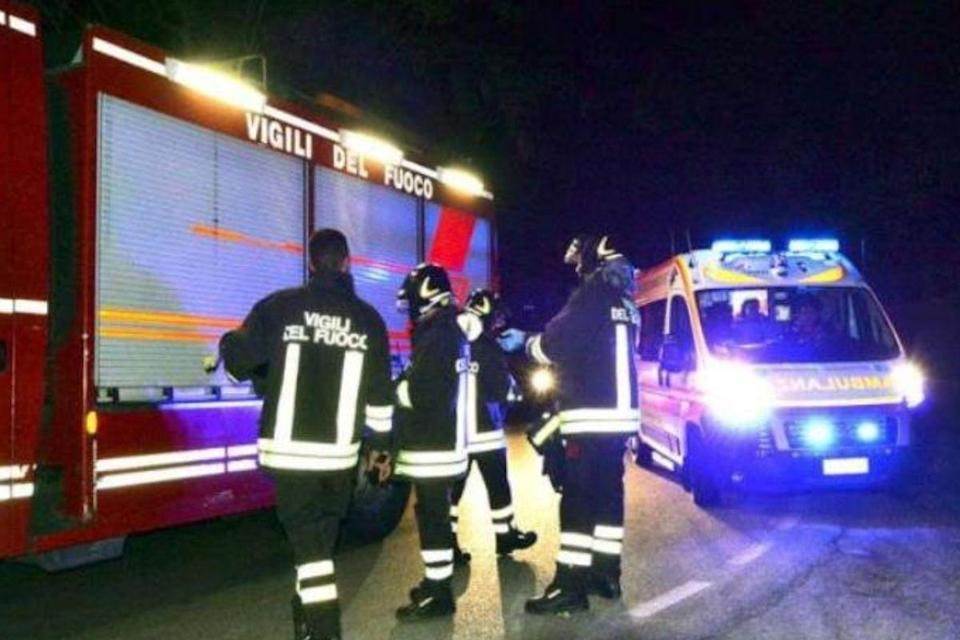 incidente stradale castelmagno
