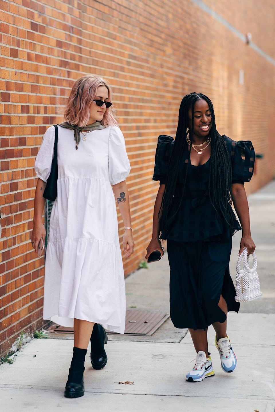 <p>These simple but romantic dresses make for great everyday outfits.</p>